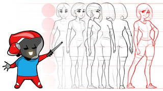 Draw a Character Turnaround