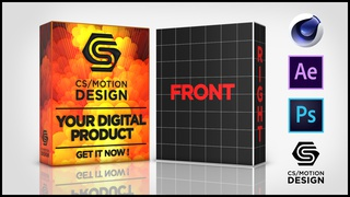 How to create a Product Box in After Effects and Element 3D using Cinema 4D