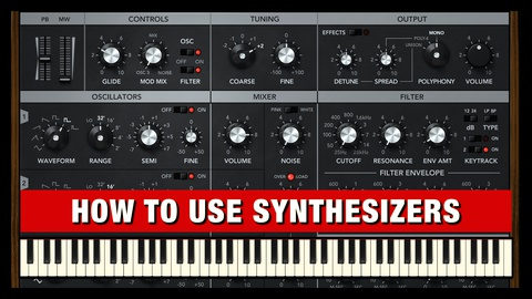 How to use Synthesizers for Music Production