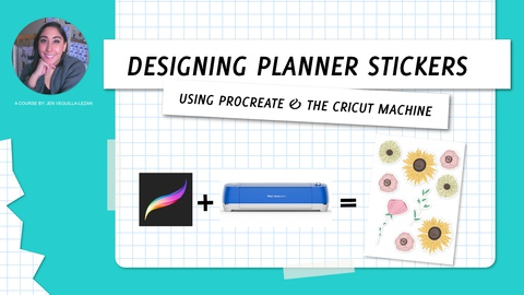 Designing Physical Planners Stickers Using Procreate