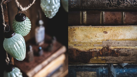Still Life Photography: A few of my favorite things setup
