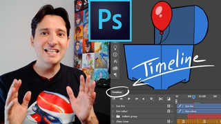 Hand-Drawn Animation with Photoshop's Video Timeline