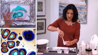 Secret Tricks to Pouring Acrylic Painting Techniques