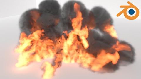 Mantaflow Fire & Smoke Simulation Guide in Blender
