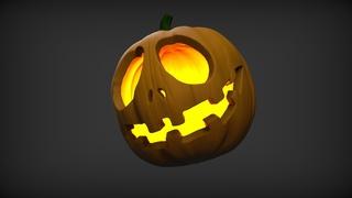 Sculpt And Paint Your Very Own 3D Printable Halloween Pumpkin Design