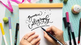 Bounce Calligraphy - Beyond Modern Calligraphy Basics