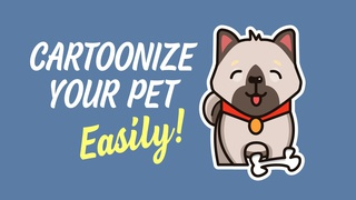 Cartoonize Your Pet (Kawaii Style Made Easy)