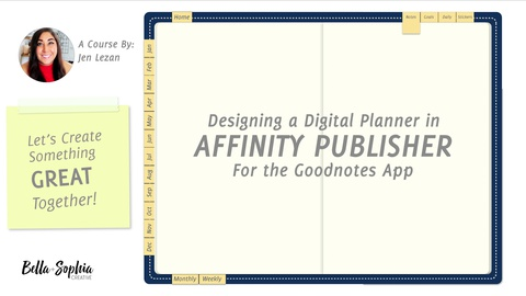 Building a Digital Planner for Goodnotes in Affinity Publisher