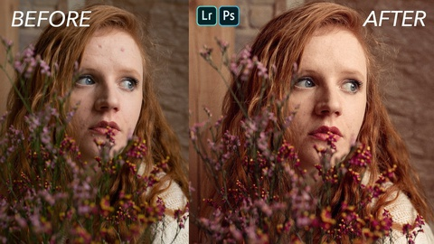 Edit Photographs With Photoshop & Lightroom: Step-by-Step Process for Fashi