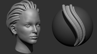 Sculpt And Model Your Very Own Custom Hair Brush And Hairstyle In Zbrush