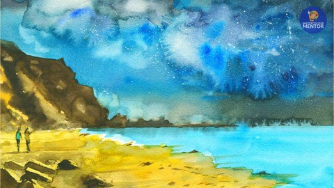 Night Landscapes in Watercolour