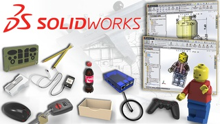Solidworks 2021: Learn 3D CAD Using Real World Examples