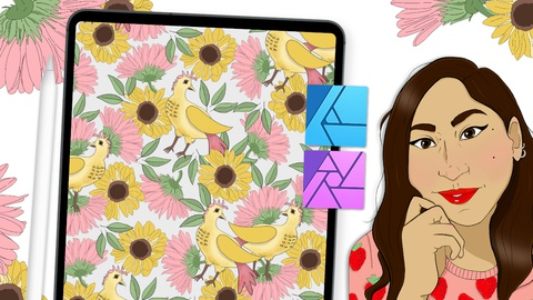 Learn How to Create Surface Pattern Designs on the iPad