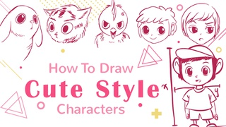 How To Draw Characters With Cute Style