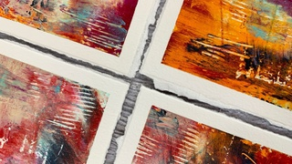 Deckled Edges - Creating Soft Torn Edges For Your Art