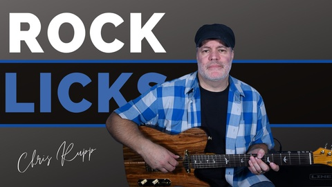 10 Must Know Rock Guitar Licks