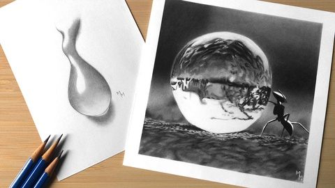 How to Draw Water Drops