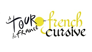 French Cursive Calligraphy