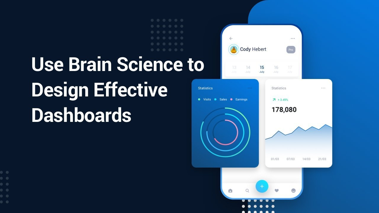 Intro to UX: Design Effective Dashboards With Brain Science