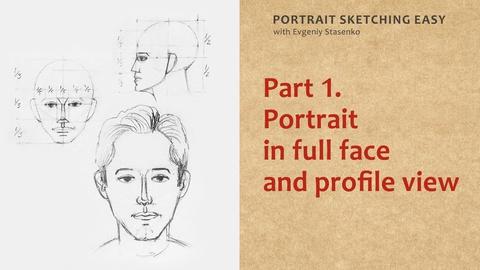 Portrait Sketching Easy