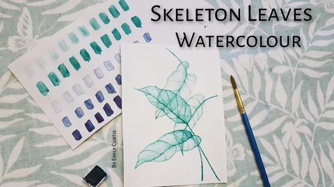 Watercolour Skeleton Leaves (Music Fixed)