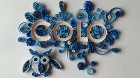 Introduction to Quilling Quill Your Name from Beginning to End