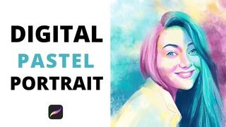 Pastel Portraits with Procreate