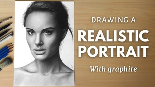 Drawing a Realistic Portrait with Graphite