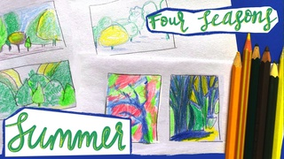 """Four Seasons"": Summer's Contrasts of Light, Shape, Colour"