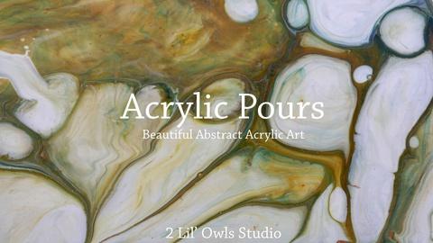 Acrylic Pours Workshop