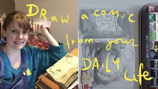 Draw a Comic from your Daily Life