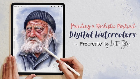 Painting a Realistic Watercolor Portrait in Procreate