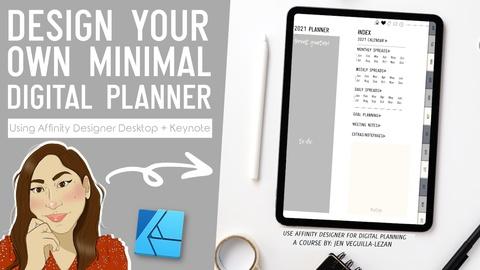 Design a Digital Planner for Goodnotes in Affinity Designer + Keynote