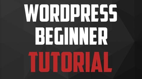 Wordpress Beginner Tutorial: Build Your First Website