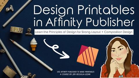 Design Bullet Journal Style Printables in Affinity Publisher
