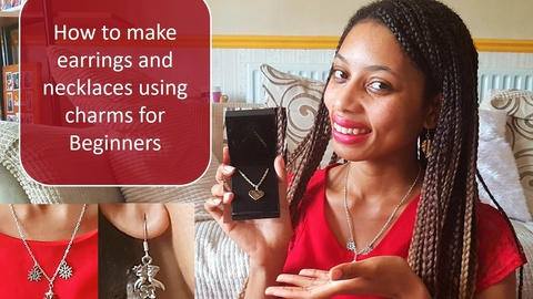 How to make quick, unique and cheap jewellery (earrings and necklaces)