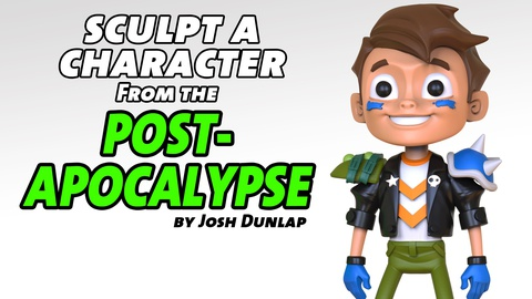 Sculpt a Character from the Post-Apocalypse
