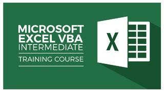VBA Intermediate Instruction - Become the Office VBA/Excel Expert