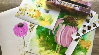 Alcohol Ink Painting Techniques
