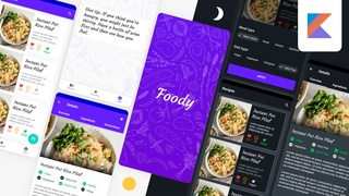 Modern Food Recipes App - Android Development with Kotlin