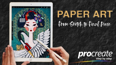 How to Create Paper Art in Procreate: From Sketch to Final Piece