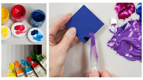 New & Easy Color Mixing for Acrylic & Oil Painters