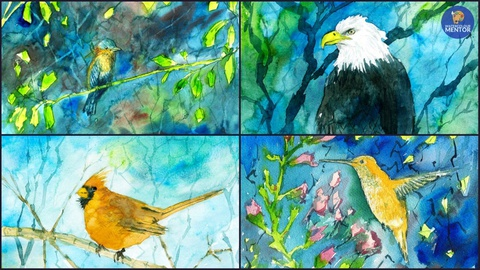 Painting Birds in Watercolor: Essential Techniques
