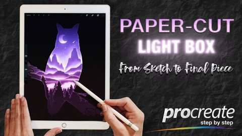 Procreate: From Sketch to Final Piece (Free Brushes & Color Palette)