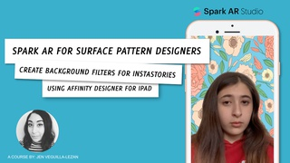 Spark AR for Surface Pattern Designers