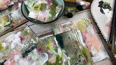 Abstract Painting: Create beautiful abstract art without all the pressure