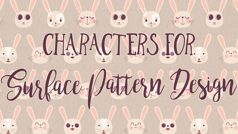 Character Design Crash Course: Characters for Surface Pattern Design