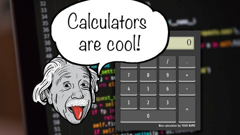 Create a hand made calculator with HTML, CSS and JavaScript