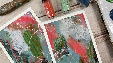 Acrylic Paint - Making your own paint from pigment