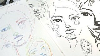 Whimsical Faces: Five Minutes of Faces